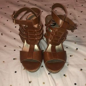 G by Guess Cork Wedges